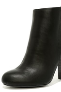 Molly Black High Heel Ankle Booties 6
