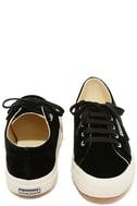 Superga 2750 VELVTW Black Velvet Sneakers 3