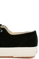 Superga 2750 VELVTW Black Velvet Sneakers 7