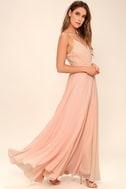 All About Love Blush Pink Maxi Dress 2
