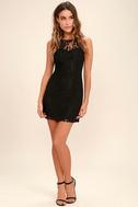 BB Dakota Thessaly Black Lace Dress 2
