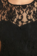 BB Dakota Thessaly Black Lace Dress 6