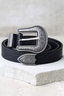 Wandering Wilderness Silver and Black Belt 1