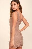 BB Dakota Thessaly Mauve Lace Dress 3