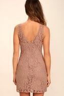 BB Dakota Thessaly Mauve Lace Dress 4