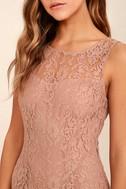 BB Dakota Thessaly Mauve Lace Dress 5