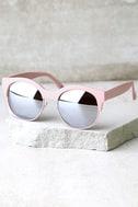 Perverse Kayla Ray Pink Mirrored Sunglasses 2