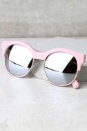 Perverse Kayla Ray Pink Mirrored Sunglasses 3