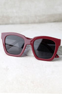 Perverse Ace Burgundy Sunglasses 3