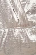Dream Chaser Silver Long Sleeve Romper 7