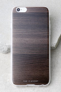 The Casery Dark Wood iPhone 6 and 6s Case 1