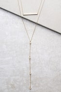Kindness Gold Layered Necklace 1