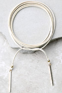 Renegade Gold and Ivory Wrap Necklace 2