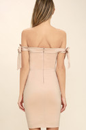 Cause a Commotion Blush Pink Off-the-Shoulder Dress 5