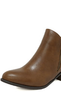 Darcy Tan Ankle Booties 6