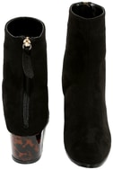 Gianna Black Suede Mid-Calf Boots 3