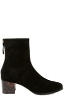 Gianna Black Suede Mid-Calf Boots 4