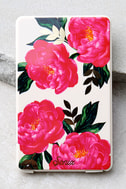 Sonix Cora Pick Me Up Pink Floral Print Portable Charger 2