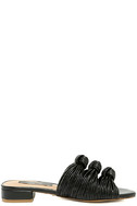 Kensie Kylee Black Knotted Slide Sandals 4