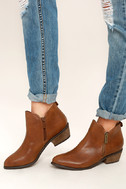 Darcy Tan Ankle Booties 2
