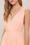 Dance the Night Away Blush Pink Backless Maxi Dress 6
