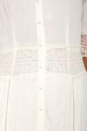 Amuse Society Last Call Ivory Lace Maxi Dress 5
