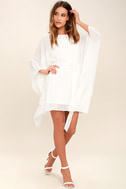 Heavenly Being White Kaftan Dress 2