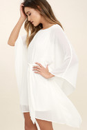 Heavenly Being White Kaftan Dress 3