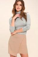 Mademoiselle Blush Mini Skirt 1
