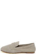 Chinese Laundry Grateful Taupe Suede Leather Slip-On Loafers 2