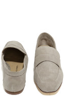 Chinese Laundry Grateful Taupe Suede Leather Slip-On Loafers 3