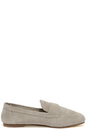 Chinese Laundry Grateful Taupe Suede Leather Slip-On Loafers 4