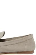 Chinese Laundry Grateful Taupe Suede Leather Slip-On Loafers 7