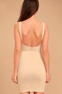 Perfect Pick Light Beige Bodycon Dress 4