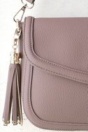 Perfect Grade Mauve Purse 3