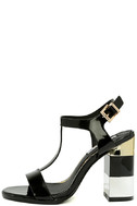Eloise Black High Heel Sandals 2