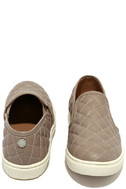Steve Madden Ecentrcq Grey Quilted Slip-On Sneakers 3