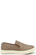 Steve Madden Ecentrcq Grey Quilted Slip-On Sneakers 4