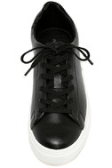 Madden Girl Kitten Black Flatform Sneakers 5