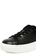 Madden Girl Kitten Black Flatform Sneakers 6