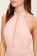 First Comes Love Blush Pink Maxi Dress 5
