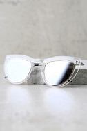 Spitfire Outward Urge Gold and Clear Mirrored Sunglasses 3