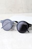 Spitfire Nexus Black Round Sunglasses 4