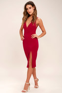 Chart Topper Berry Pink Bodycon Dress 2