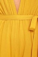 Outspoken Golden Yellow Long Sleeve Romper 6