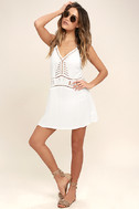 Exotic Locale White Crocheted Cover-Up 2