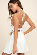 Exotic Locale White Crocheted Cover-Up 3