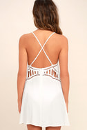 Exotic Locale White Crocheted Cover-Up 4
