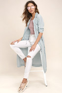 Highways and Byways Light Blue Chambray Jacket 1