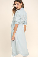 Highways and Byways Light Blue Chambray Jacket 3